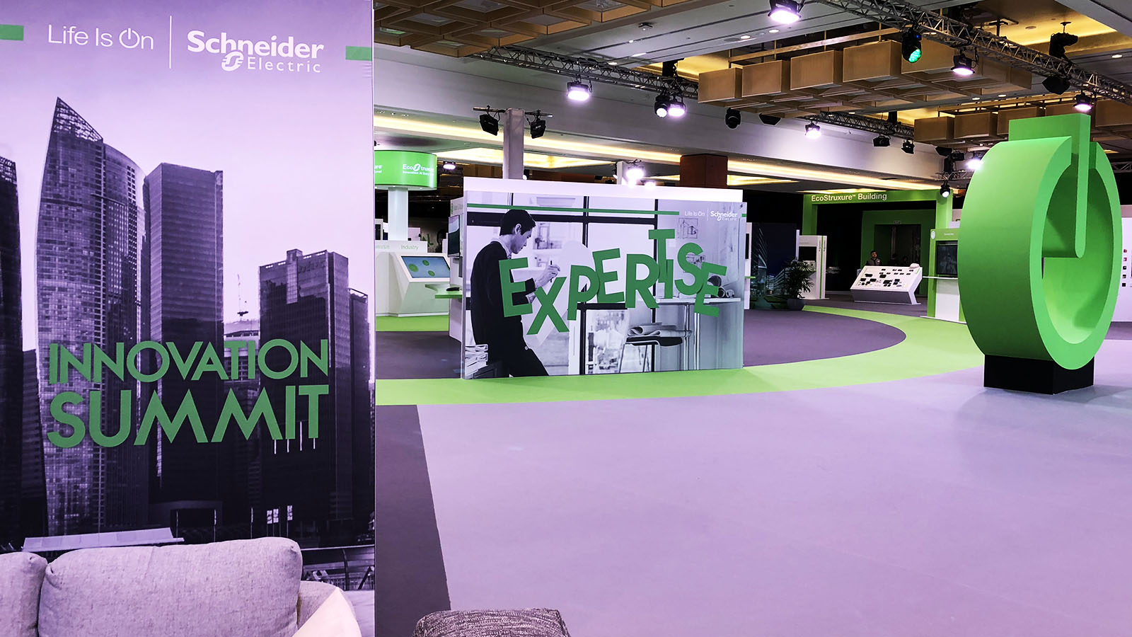 Schneider Electric Innovation Summit Singapore Banner