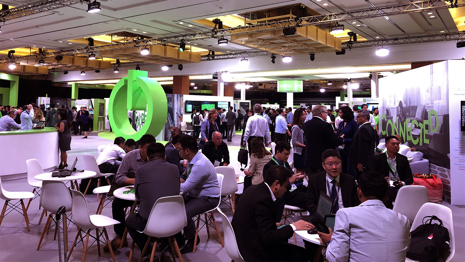 Schneider Electric Innovation Summit Singapore Exhibit Hall