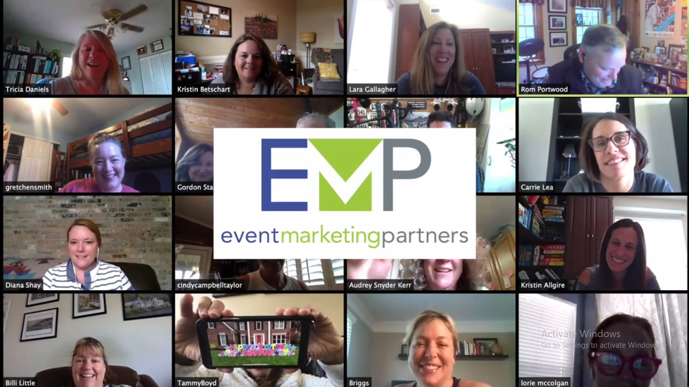 Sctreenshot of EMP video - The most important element of a virtual event strategy